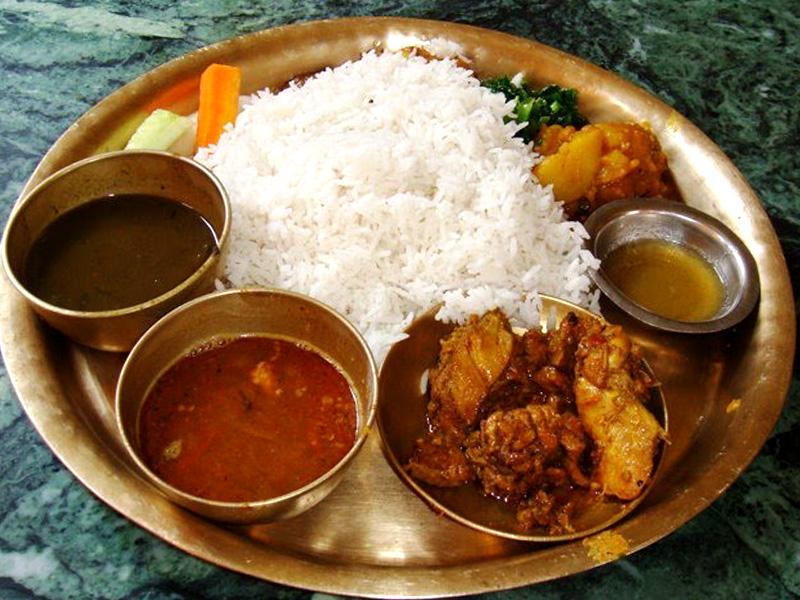 Nepali Khana Set